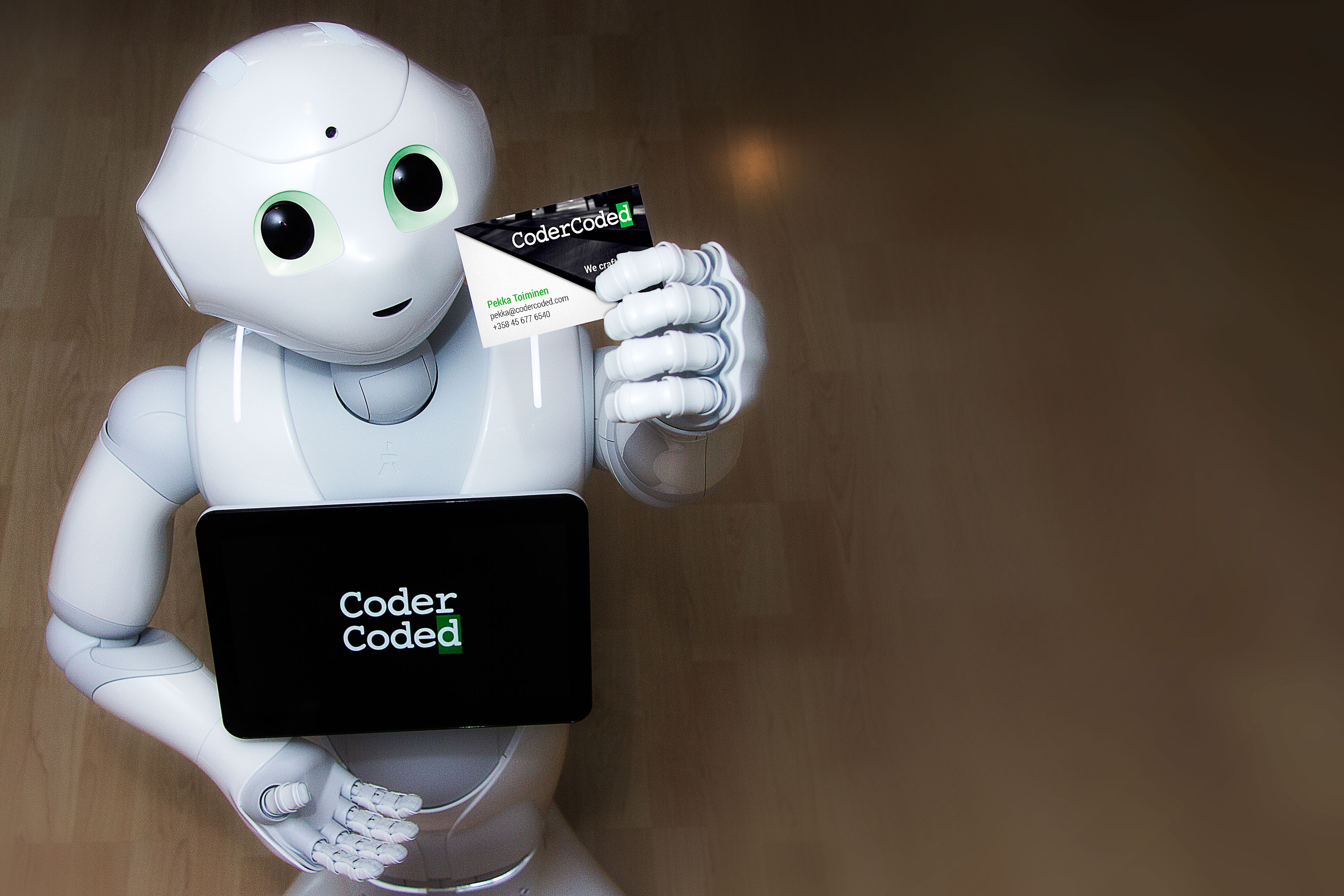 Pepper is the most advanced humanoid robot currently available